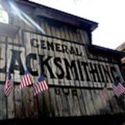General Blacksmithing Poster
