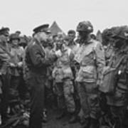 General Eisenhower On D-day  Poster by War Is Hell Store