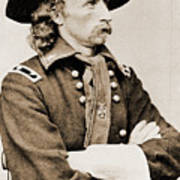 General George Custer Poster