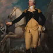 General George Washington At Trenton Poster