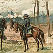 General Grant, Battle Of Shiloh, 1862 Poster