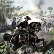 General Grant During Battle Poster