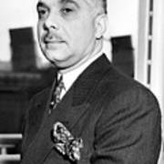 General Rafael L. Trujillo. August 02, 1939. Poster