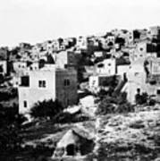 General View Of Bethlehem 1800s Poster