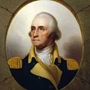 General Washington - Porthole Portrait  Poster