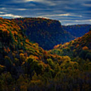 Genesee River Gorge Poster