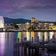 Geneva By Night  Poster