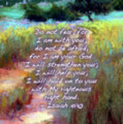 Gentle Journey With Bible Verse Poster