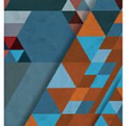 Geometric Beginnings Poster