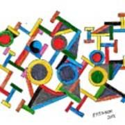 Geometric Fun Poster