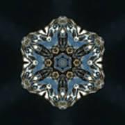 Geometric Glass Reflection Poster