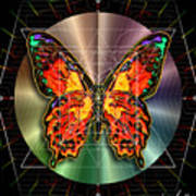 Geometron Fyr Lepidoptera Poster