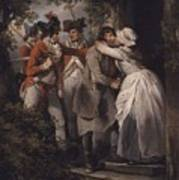 George Morland   The Deserters Farewell Poster