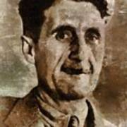 George Orwell Author Poster