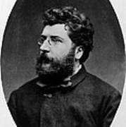 Georges Bizet, French Composer Poster