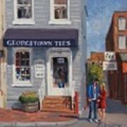 Georgetown Tee's Poster