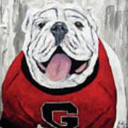 Georgia Bulldog Poster