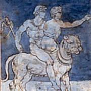 Gericault: Bacchus & Ariadne Poster