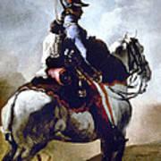 Gericault: Trumpeter, 1814 Poster
