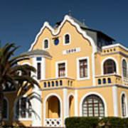 German Colonial Architecture In Swakopmund Poster