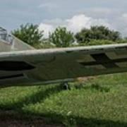 German Fighter Poster