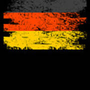 Germany Gift Country Flag Patriotic Travel Shirt Europe Light Poster