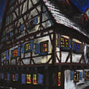 Germany Ulm Fischer Viertel Schwor-haus Poster