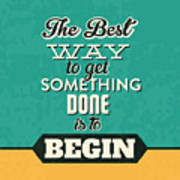 Get Something Done Poster