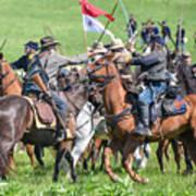 Gettysburg Cavalry Battle 8021c  Poster