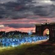 Gettysburg Evergreen Poster