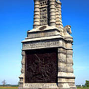 Gettysburg National Park 6th New York Cavalry Memorial Poster