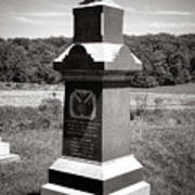 Gettysburg National Park 6th Wisconsin Iron Brigade Monument Poster