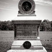 Gettysburg National Park 80th New York Infantry Militia Monument Poster