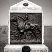 Gettysburg National Park 9th New York Cavalry Monument Poster