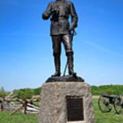 Gettysburg National Park Major General John Buford Memorial Poster