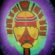 Ghana Mask Poster