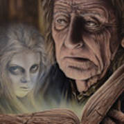 Ghost In The Book Poster