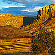 Ghost Ranch At Sunset, Abiquiu, New Poster