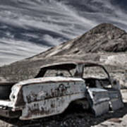 Ghost Town Junked Car Poster