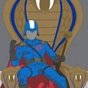 Gi Joe - Cobra Commander Poster