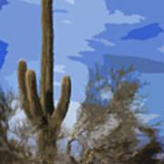 Giant Saguaro Poster
