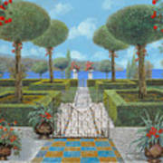 Giardino Italiano Poster