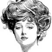 Gibson Girl, 1900 Poster