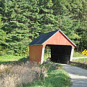Gifford Covered Bridge  Poster