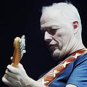 Gilmour By Nixo Poster