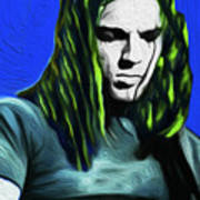 Gilmour Neon Nixo Poster