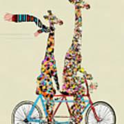 Giraffe Days Lets Tandem Poster