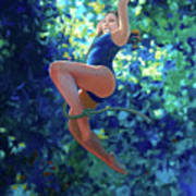Girl On A Rope Poster