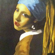 Girl With Pearl Earring Poster