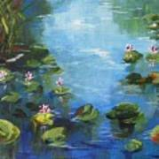 Giverny Lily Pond Poster